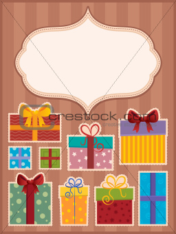 Image with gift theme 3