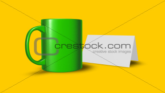 cup and card