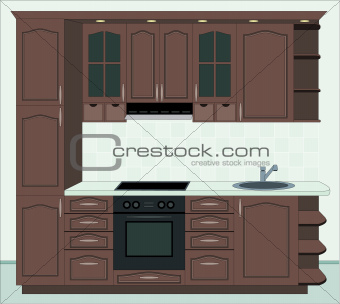 Kitchen furniture.