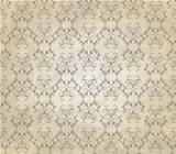 Vector Vintage Seamless Pattern on Crumpled Paper Texture