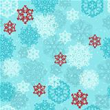 Vector Seamless pattern with  Snowflakes