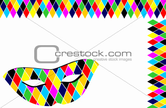 Background Carnival mask