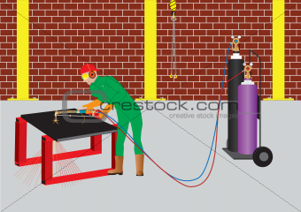 Oxy Acetylene Cutter