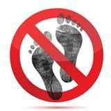 no bare feet allow