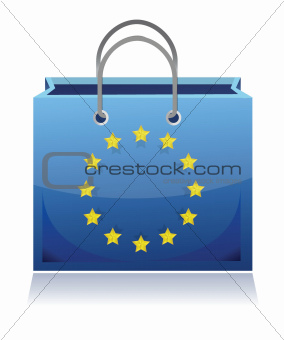 european shopping bag