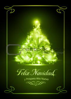 Christmas card, tarjeta de navidad