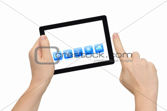 Pointing Tablet PC