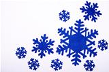 nine snowflakes