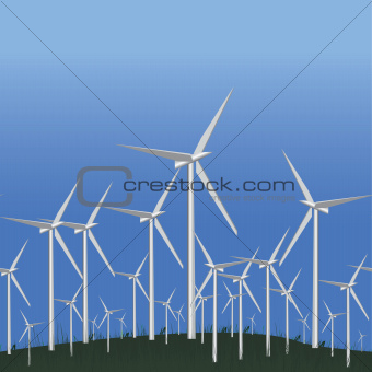 Wind Alternative energy station