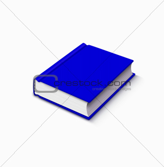 blue book over white