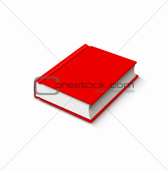 red book over white
