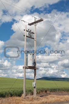 Single Phase Voltage Regulator in Field