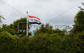 For Sale Flag