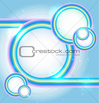 Winter vector abstract  background
