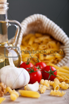 Italian cuisine specific ingredients