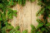 christmas fir tree frame 