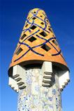 Chimney of Palau Guell