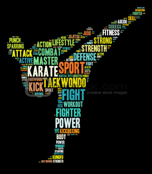 Martial art graphics
