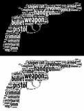 Revolver gun graphics