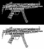 Sub machine-gun graphics
