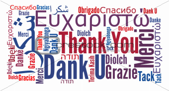 Thank you phrase in different languages