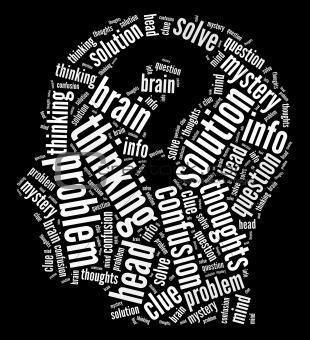 Mind intellectual concept