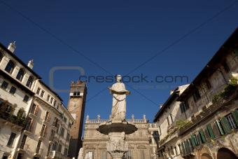 Piazza delle Erbe - Verona Italy