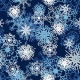 Seamless Snowflake Pattern