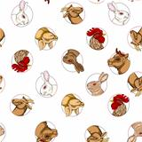 domestic animals pattern