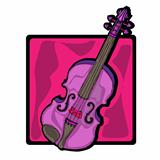 violin clip art