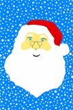 Face of Santa Claus