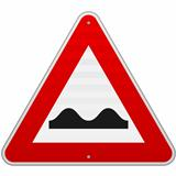 Bumpy Road Sign