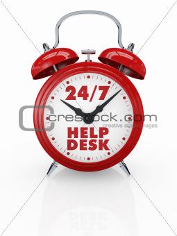 help desk 24/7