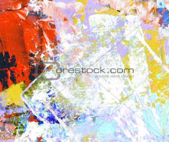Grunge collage, watercolor style , great background or texture for your projects