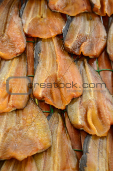 dried dried Broadhead catfish