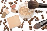 Cosmetics beige shades