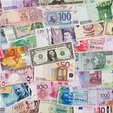 Banknotes from all over the world