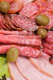 Background of Delicatessen Meat