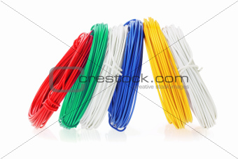 Coils of Color Wires