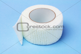 White Elastic Medical Bandage