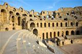 El Djem, Amphitheatre, auditorium