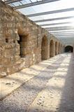 El Djem Amphitheatre, underground corridors