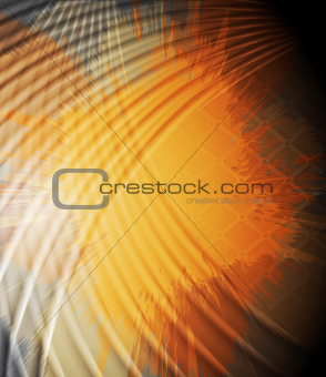 Grunge orange background