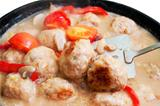 meatballs in sauce with tomatoes