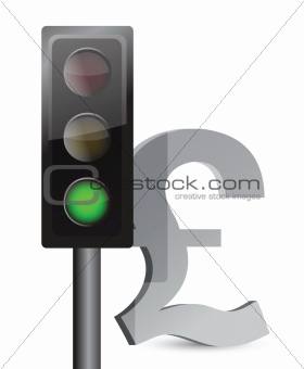 green light on pound concept