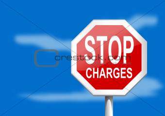 Stop sign charges
