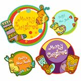 Gift christmas tags 3