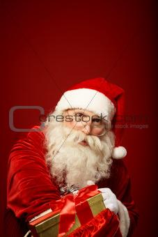 Generous Santa Claus
