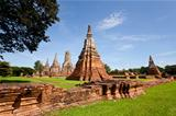 wat chai wattanaram the historic buddhist temple in ayutthaya