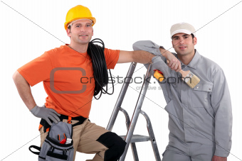 Electrician and painter